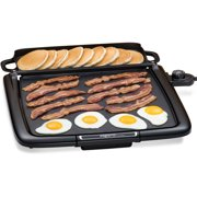 Presto Cool-Touch Electric Griddle with Warmer Plus