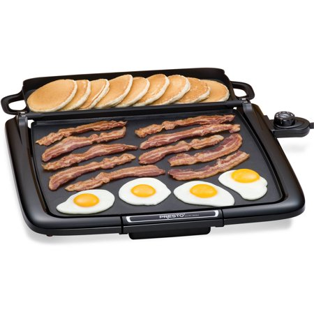 Presto Cool-Touch Electric Griddle with Warmer