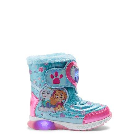 Nickelodeon Paw Patrol Light Up Strap Snow Boots (Toddler Girls)