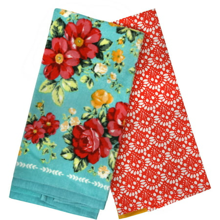The Pioneer Woman Vintage Floral 2pk Kitchen Towel Set