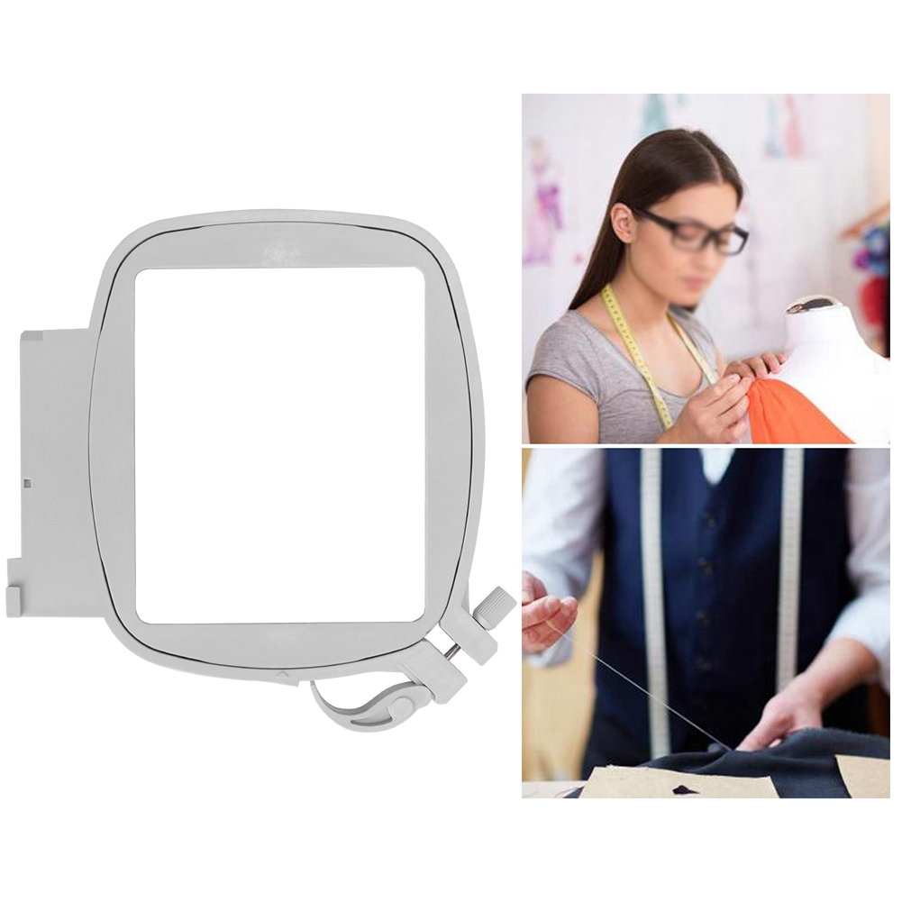 PA006 Plastic Square Hoop 80 x 80mm Multifunction Sewing Machine Hoops Parts