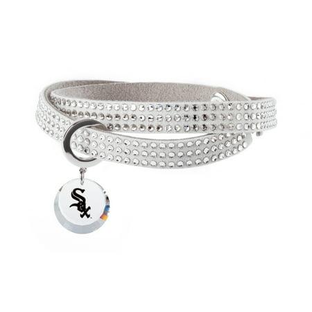 Chicago White Sox Swarovski Home Run Bracelet - No Size - Glow Run Chicago