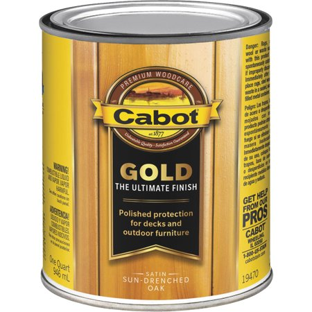 Cabot Gold Low Voc Exterior Stain