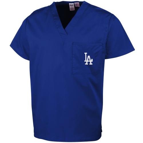 Los Angeles Dodgers Concepts Sport Unisex Scrub Top - Royal