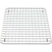 interdesign gia kitchen sink protector grid regular polished stainless steel - Kitchen Sink Grids