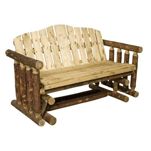 Montana Woodworks MWGCLGNR Glacier Country Log Glider