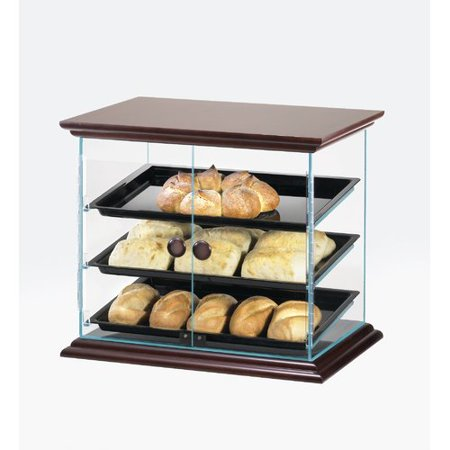 Cal Mil Stainless Steel With Black Trays