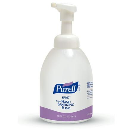PURELL® Instant Alcohol-Free Foam Hand Sanitizer 18 fl oz, Counter Top Pump (Hand Sani Foam)