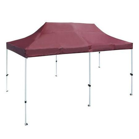 ALEKO GZF10X20WH Gazebo Tent 420D Oxford Canopy Party Tent