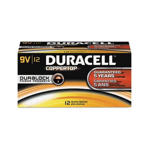 CopperTop Alkaline Batteries with Duralock Power Preserve Technology DURMN160...