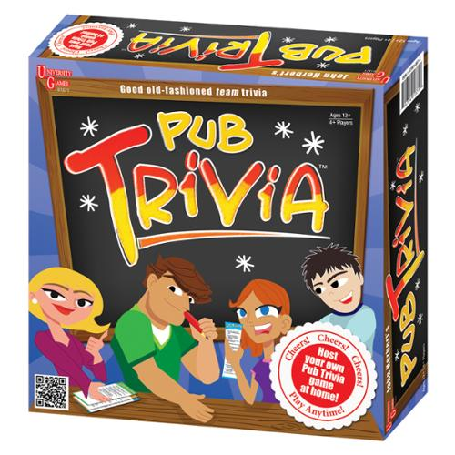 UNIVERSITY GAMES Pub Trivia Game