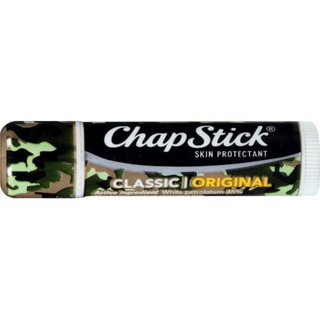 ChapStick Apaisant Baume à lèvres, Classique original, 0,15 oz