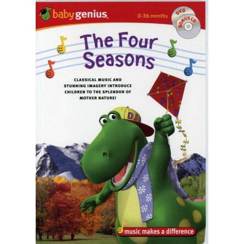 Baby Genius: The Four Seasons (DVD + CD + CD Wallet)