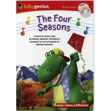 Baby Genius: The Four Seasons (DVD + CD + CD - Baby Daddy Season 3 Halloween