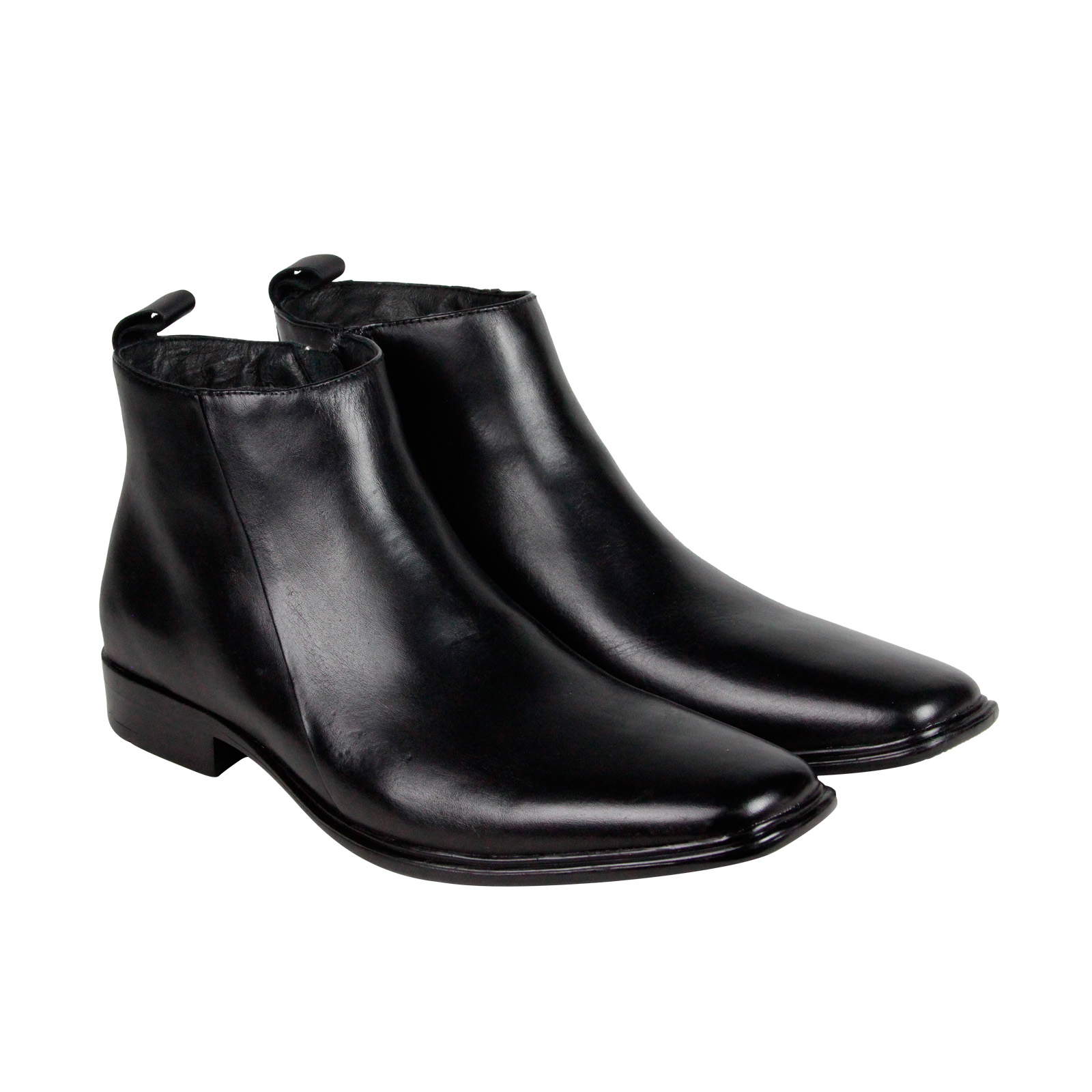 Mark Nason Skechers Camber Mens Black Leather Casual Dress Boots Shoes by Mark Nason