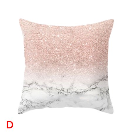 Golden Shiny Printed Cushion Covers Pillow Case Cover Reversible Throw  Pillow Pillowcases For Sofa Home Decor