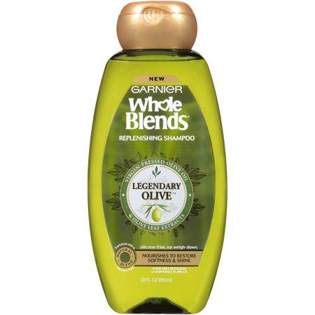 Garnier Whole Blends Replenishing Shampoo Legendary Olive 22 FL - Olive Blend