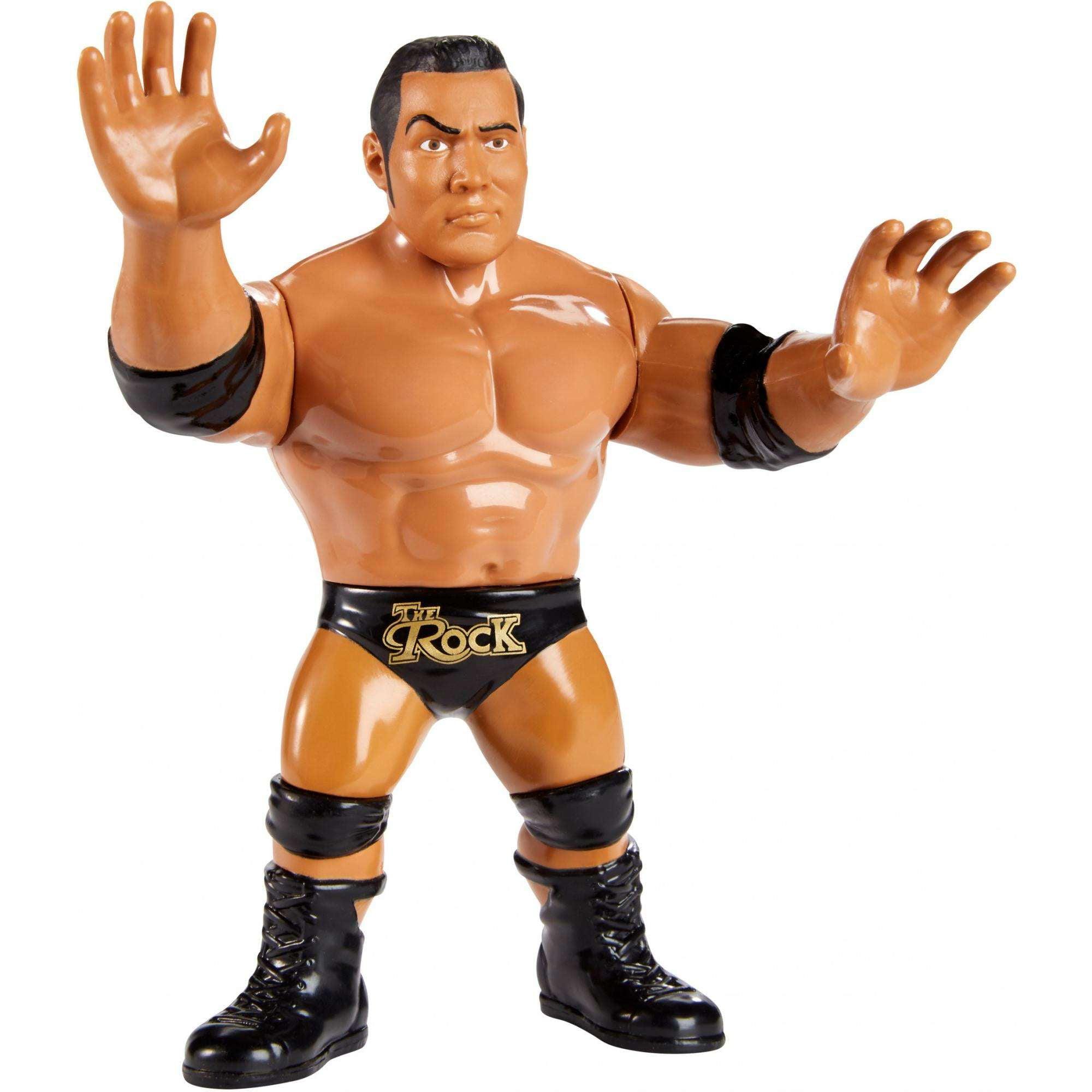 WWE The Rock Retro Action Figure