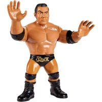 """WWE Retro """"Rock Bottom!"""" The Rock 4.5-inch Scale Action Figure"""
