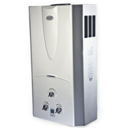 Marey 4 3 Gpm Tankless Natural Gas Hot Water Heater Digital Display Ga16ngdp