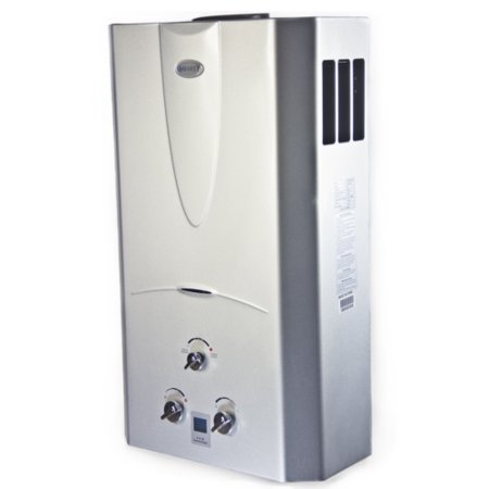 Marey 4 3 Gpm Tankless Natural Gas Hot Water Heater Digital Display Ga16ngdp Walmart Com