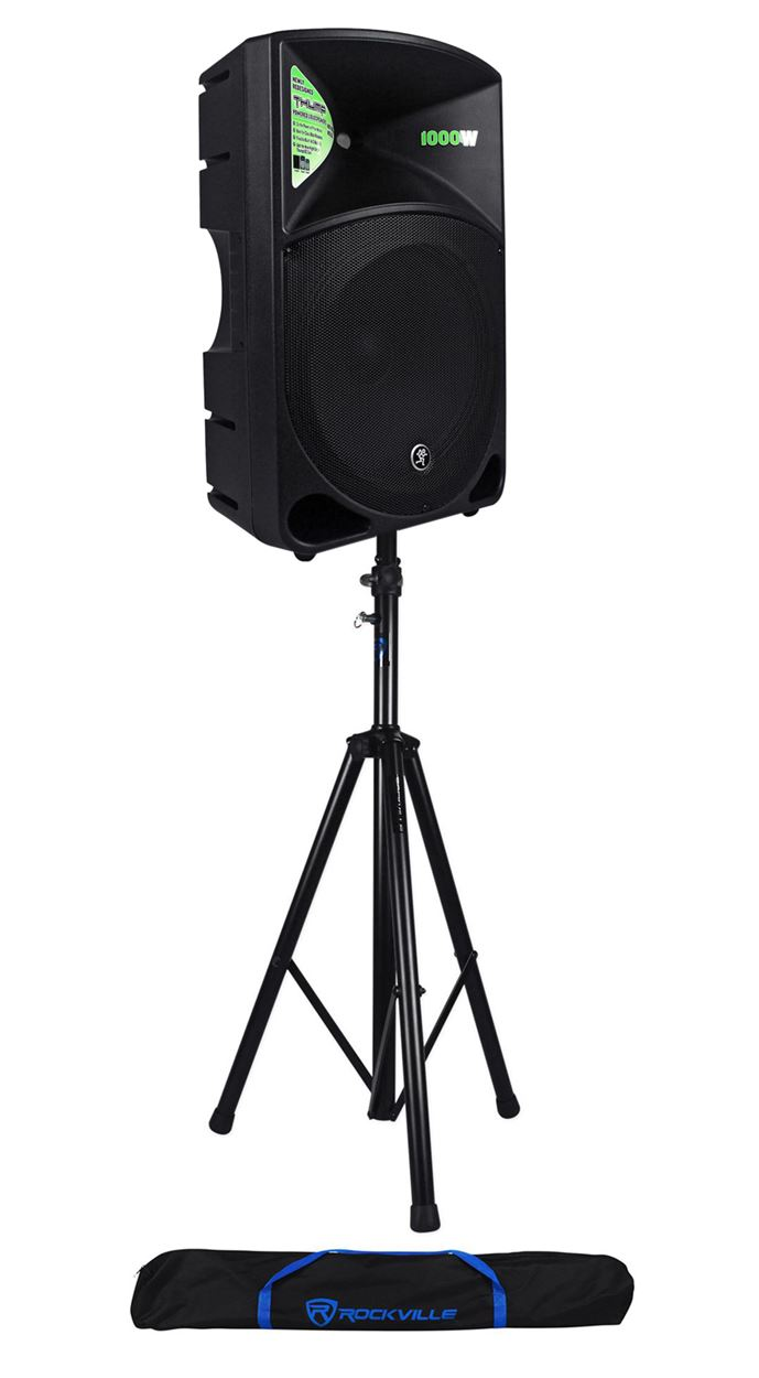 "Mackie THUMP-15 15"" Powered Active 1000w PA DJ Speaker+Hydraulic Speaker Stand by Mackie"
