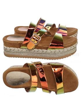 89d0d91f9 Bamboo Womens Sandals   Flip-flops - Walmart.com