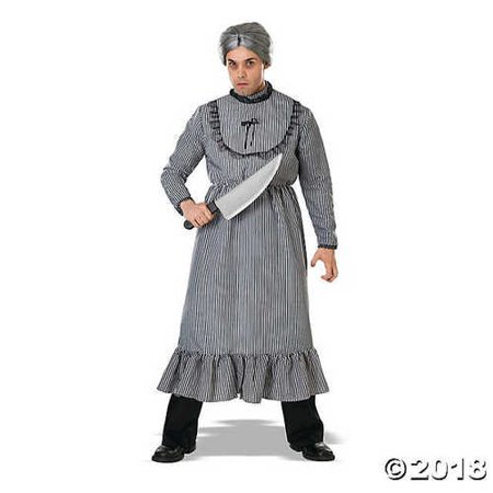 Morris Costumes Men's Psycho Bates Grandma Cost Costume, Standard](Low Cost Costumes)