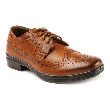 Perforated Wing Tip - Boys' Deer Stags Ace Wing Tip Oxford