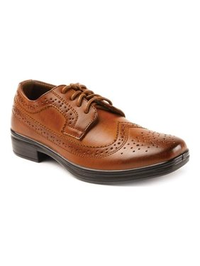 Deer Stags Boys' Ace Dress Wing-Tip Oxford Dress Shoes