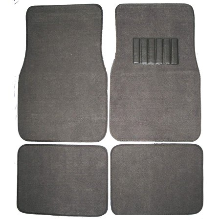 Truck Carpet Kit Charcoal - Front & Rear Carpet Car Truck SUV Floor Mats - Charcoal