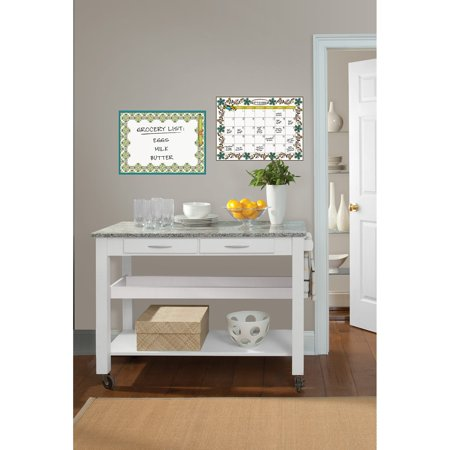 WallPops Anya Dry Erase Calendar and Message Board Decal
