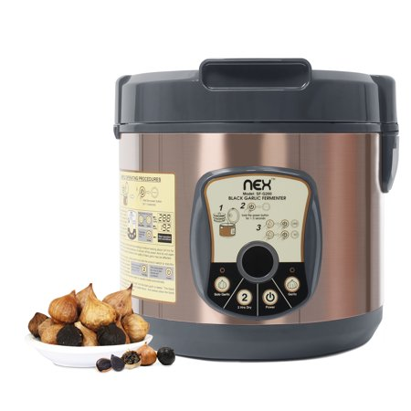 NEX NE-KF20B professional black garlic fermenter with one touch automatic operation grogram, family size - Bronze Color