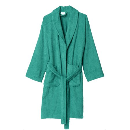 TowelSelections Women's Robe, Turkish Cotton Short Terry - Turkish Terry Velour