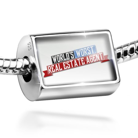 Bead Funny Worlds Worst Real Estate Agent Charm Fits All European Bracelets
