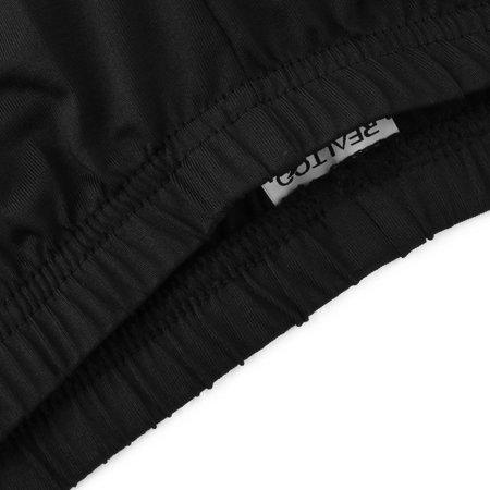 Men Polyester Fiber Elastic Bike Cycling Shorts W36 - image 3 de 6