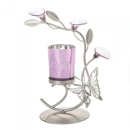 BUTTERFLY LILY CANDLEHOLDER (Butterfly Candle Set)