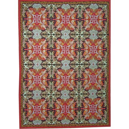 Pasargad Aubusson Hand Woven New Zealand Wool Area Rug