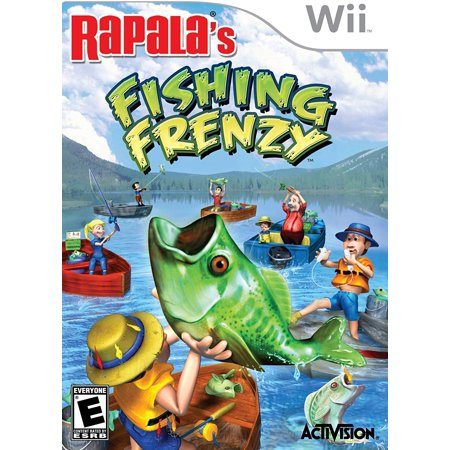 Rapala Fishing Frenzy - Nintendo WiiFeatures 9 species of monster bass and 14 other trophy fish, such as trout, salmon, northern pike, catfish and.., By by