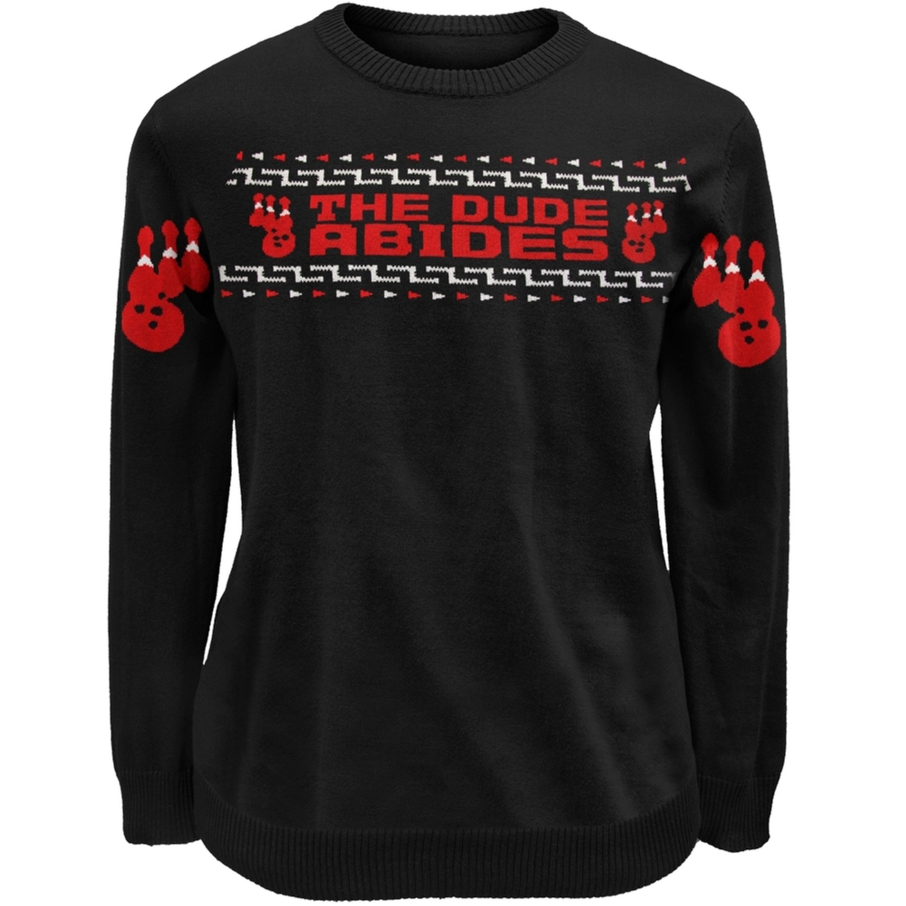 Big Lebowski - Dude Abides Bowlers Sweater