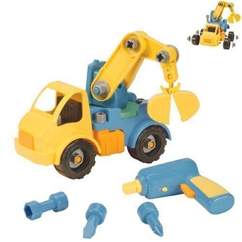 Lovely Take Apart Crane   Building Sets By Battat (68026)