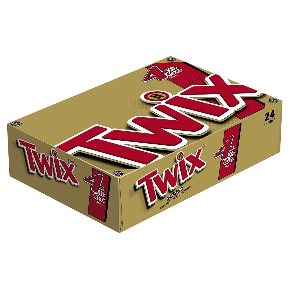 144 PACKS : Twix Caramel King Size 3.02 Oz