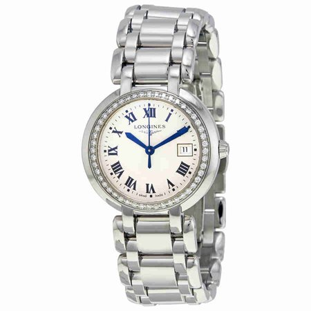 Longines Prima Luna Silver Dial Diamond Ladies Watch L8 112 0 71 6