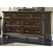 Liberty Rich Cognac 7-drawer Dresser