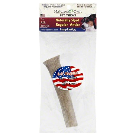 Best Buy Bones-Nature' S Own Naturally Shed Deer Antler Dog Chew 5