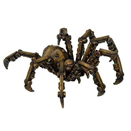 9799 Steampunk Inspired Mechanical Spider Resin Statue Figurine, 6