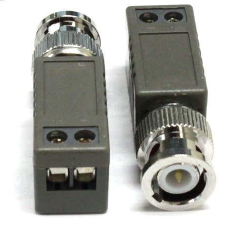 (10) Pieces of 1 Channel Passive CCTV Camera BNC Video Balun Transceiver for Security Camera System - BNC to UTP CAT5 20