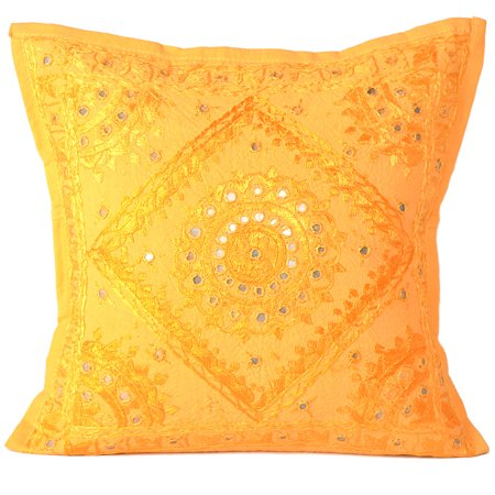 Yellow Outdoor Patio Cushions Cover Cases Boho Throw Pillow Covers Decorative Square Cushion Cover For Sofa Couch Online By Goood Times