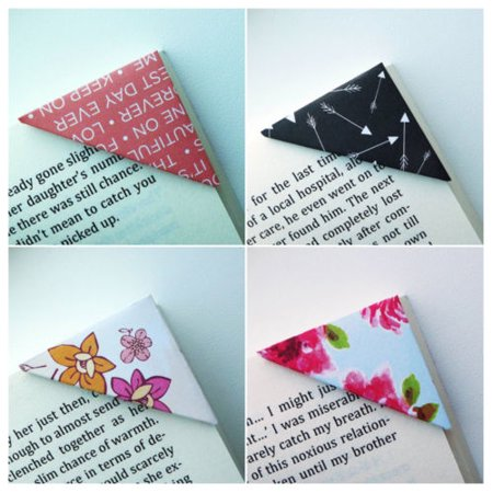 Bookmark - Set of 10 Unique Corner Bookmarks - Be My Valentine Collection