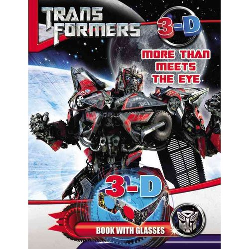 Transformers More Than Meets the Eye: 3-D Book With Glasses